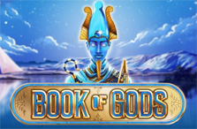 video slot book of gods logo