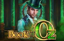 book of oz slot logo