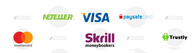 Trustly Neteller Visa Paysafecard