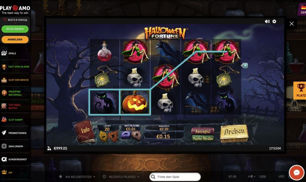 halloween spielautomat halloween fortune