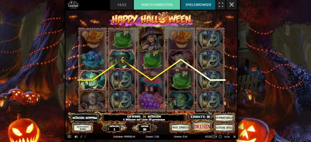 happy halloween slot casinoland