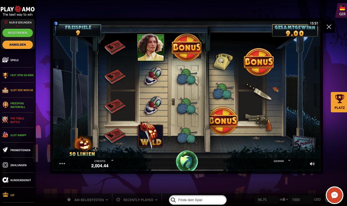 Welche Halloween Spielautomaten kann man zum Spaß oder um Echtgeld im 2019 Spielen ?