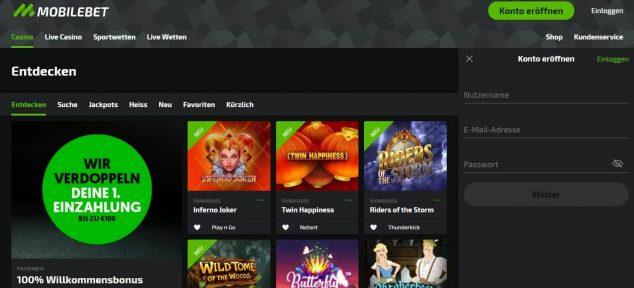 mobilebet online casino start seite