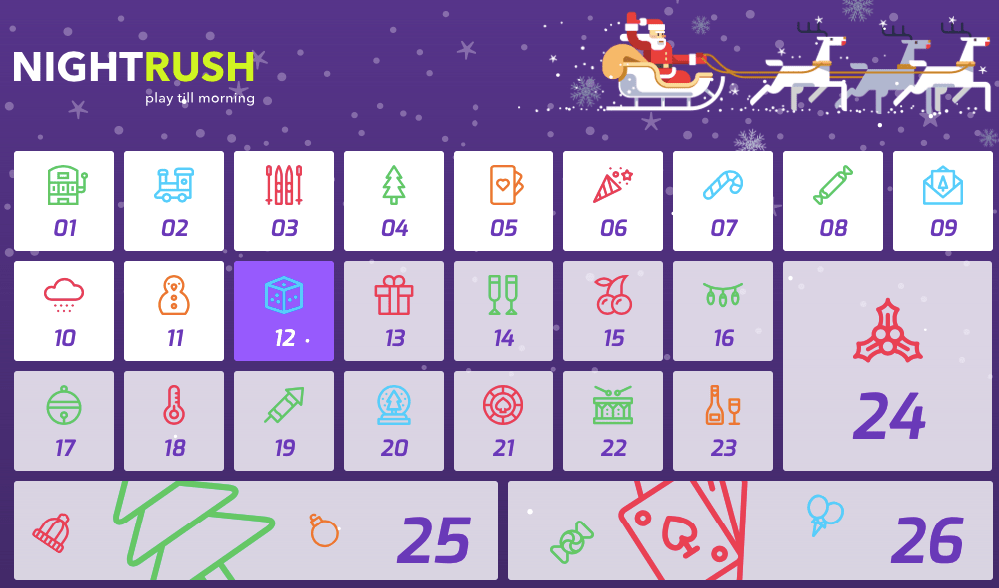 adventskalender casino bonus nightrush