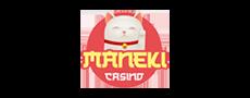 maneki casino logo bonus