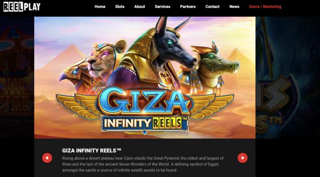 Giza Infinity Reels Spielautomat Erfahrung & Demo