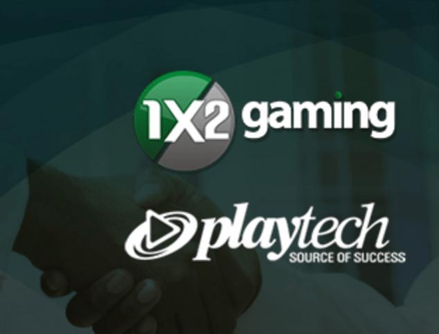 1x2 gaming und playtech logo
